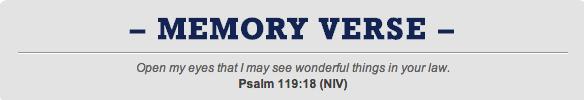 Psalm 119;18